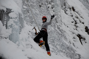 Remember that time I went ice climbing?  I'm tougher than you, Bob!